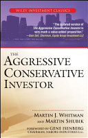download ebook the aggressive conservative investor pdf epub
