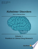 Frontiers In Clinical Drug Research Alzheimer Disorders