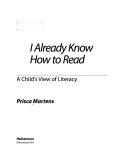 I Already Know how to Read