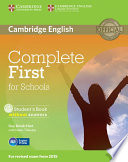 Complete First for Schools Student s Book without Answers with CD ROM