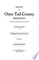 History Of Otter Tail County Minnesota