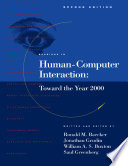 Readings in Human Computer Interaction