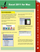 Excel 2011 for Mac By Pamphlet Master As A Complete Guide