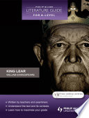 Philip Allan Literature Guide  for A Level   King Lear
