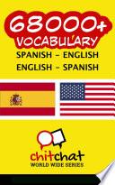 68000  Spanish   English English   Spanish Vocabulary