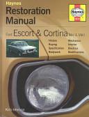 Ford Escort And Cortina Mk I And Mk Ii