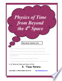 Physics of Time from Beyond the 4th Space