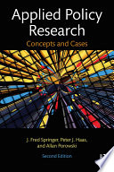 Applied Policy Research