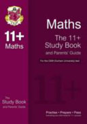 11  Maths Study Book and Parents  Guide for the CEM Test