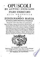 Discorso Per L Apertura Della Nuova Libreria Del Monasterio di San Martino di Palermo de  PP  Benedittini Recitato     A 20  Novembre 1768   u a