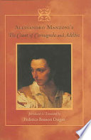 Alessandro Manzoni s The Count of Carmagnola and Adelchis