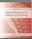 Applied Mechanics for Engineering Technology