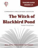 The Witch of Blackbird Pond Novel Units Teacher Guide