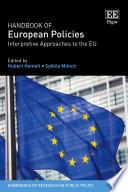 Handbook of European Policies