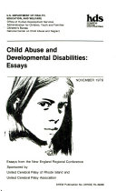 Child abuse and developmental disabilities essays