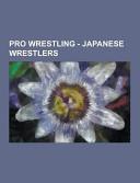 Pro Wrestling   Japanese Wrestlers