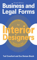 Business and Legal Forms for Interior Designers  Second Edition