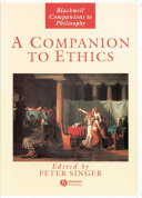 A Companion to Ethics