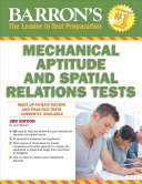 Barron s Mechanical Aptitude and Spatial Relations Test  3rd Edition