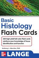 Lange Basic Histology Flash Cards