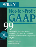 Wiley Not for Profit GAAP 99
