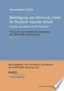 Beteiligung von Adressat innen im Studium Sozialer Arbeit
