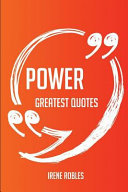 Power Greatest Quotes