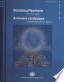 Annuaire Statistique Wide Range Of International Economic Social And