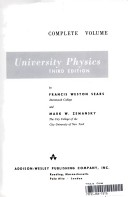 University Physics, Third Edition, Complete