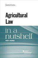 Agricultural Law in a Nutshell