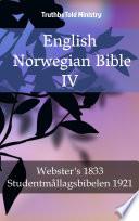 English Norwegian Bible IV