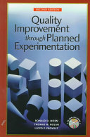 Quality Improvement Through Planned Experimentation