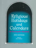 Religious Holidays and Calendars