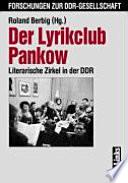 Der Lyrikclub Pankow