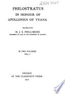 In Honour of Apollonius of Tyana