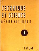 Technique et sciences a  ronautiques et spatiales