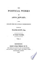 The Poetical Works of Anna Seward