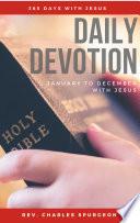Daily Devotion   365 Days With Jesus
