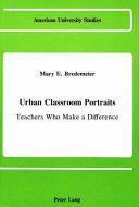 Urban classroom portraits