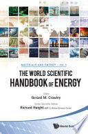 The World Scientific Handbook Of Energy book