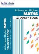 Student Book - Cfe Advanced Higher Maths Student Book
