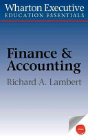 Wharton Executive Education Finance Accounting Essentials