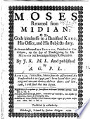 A Sermon preached on the XXX  day of January  1703 4  etc