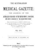 Australasian Medical Gazette