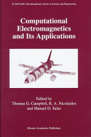 Computational Electromagnetics and Its Applications