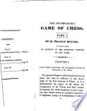 Book The Incomparable Game of Chess