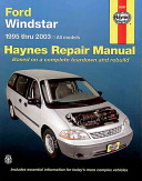 Haynes Windstar 1995 Thru 2003
