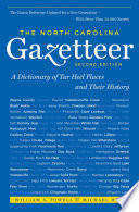 The North Carolina Gazetteer  2nd Ed