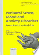 Perinatal Stress  Mood and Anxiety Disorders