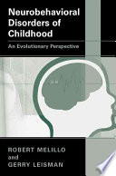 Neurobehavioral Disorders of Childhood